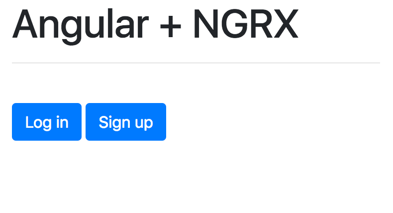 Authentication in Angular with NGRX